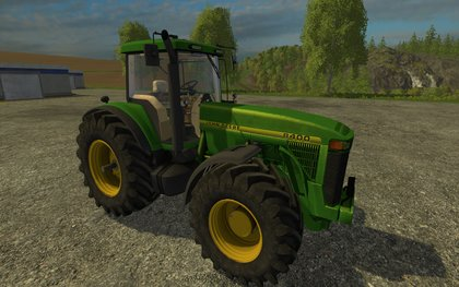 John Deere 8400 Wheel Shader