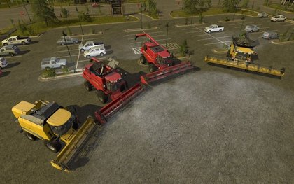 CaseIH and New Holland