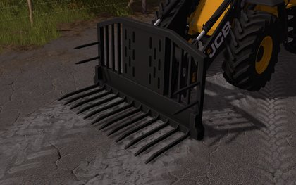 Silage Fork for wheel loaders