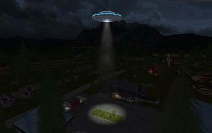 UFO sighted