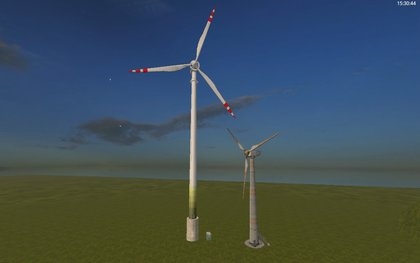 Wind Turbine 110m Placeable