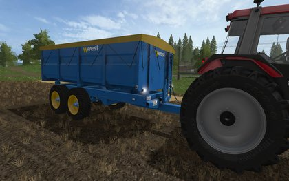 West 10t Grain Trailer