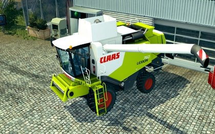 Claas Lexion 7series
