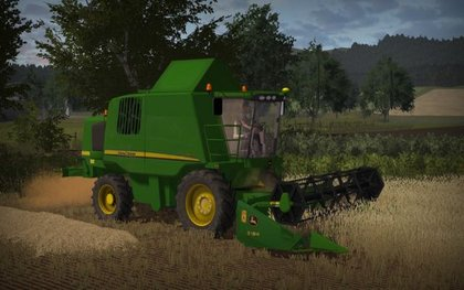 John Deere W540 and 319R pack