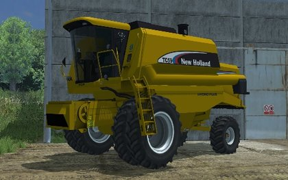 New Holland TC 59flipada
