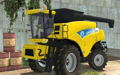 New Holland CR9090 V4