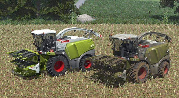 Claas Jaguar Elite pack