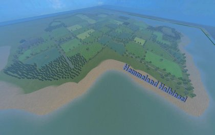 Hemmeland Halbinsel Map