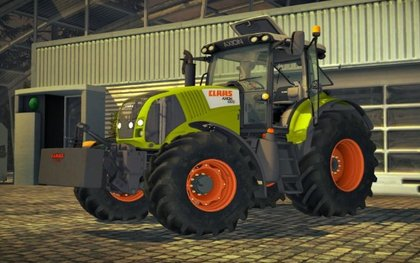 Claas Axion830 V4