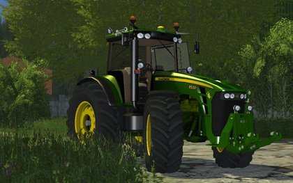 MR JohnDeere 8530 UWV 2