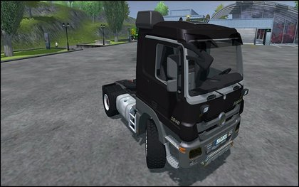 Mr Actros 2048 Black V3