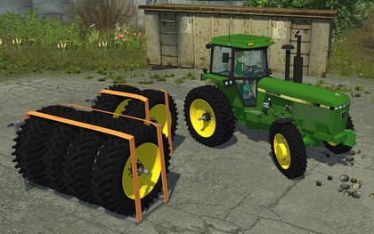 Mr JohnDeere 4850 RowCrow
