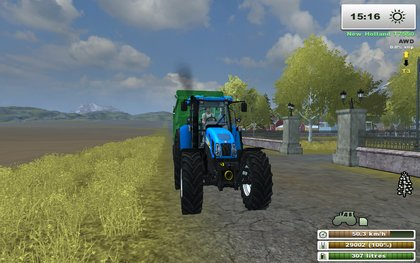 Mr New Holland T7550
