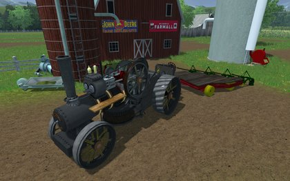 Mr Steam Engine Plow Pack