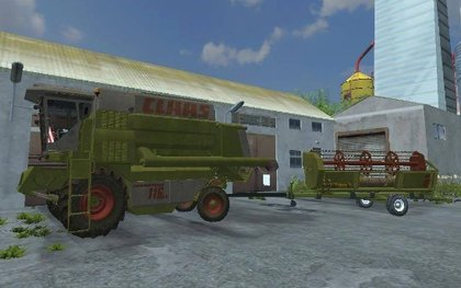 Claas Commandor 116CS