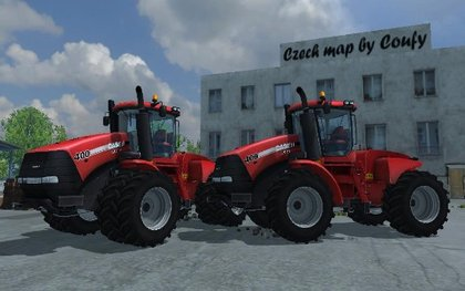 MR Case Steiger 400 pack
