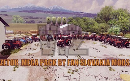 Zetor mega MP pack v2