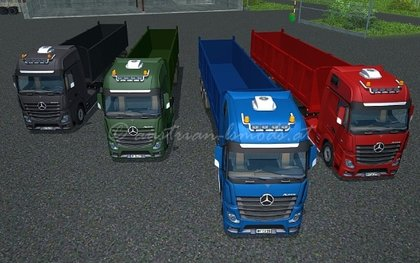 MBActros mp4 pack