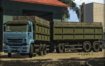 KamAZ Euro 420 Turbo pack