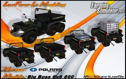 Quad POLARIS BIG BOSS