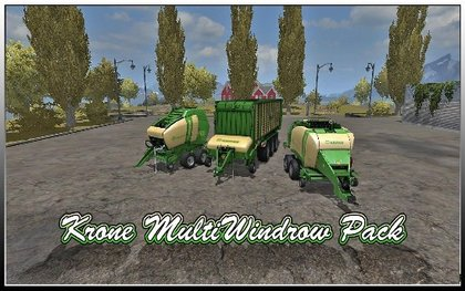 Krone Windrow Pack