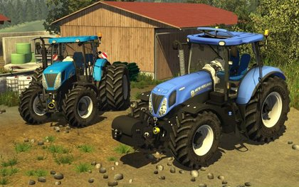 New Holland T7 Elite pack