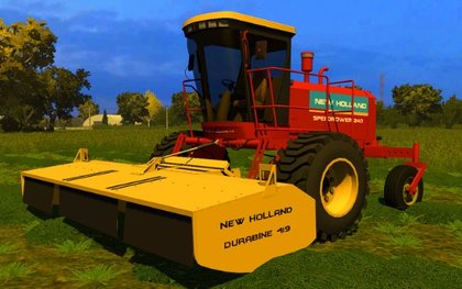 New Holland Speedrower 240