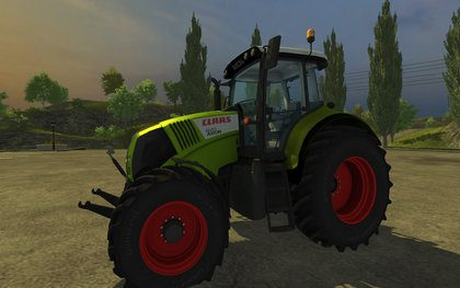 Claas Axion 820 V2