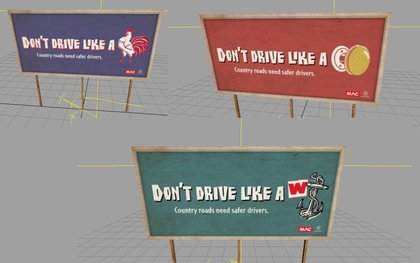 Driving Billboard Collection