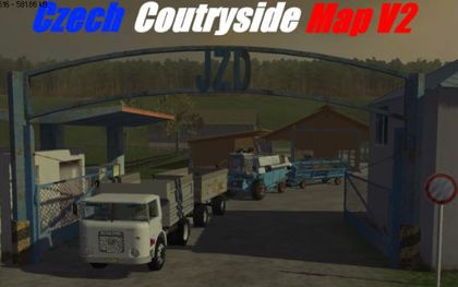 Czech Coutryside Map v2 pack
