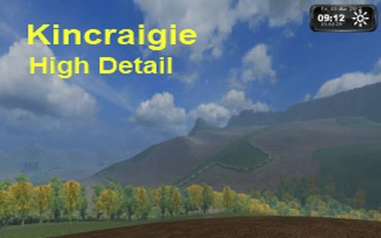 Kincraigie High Detail Map pack