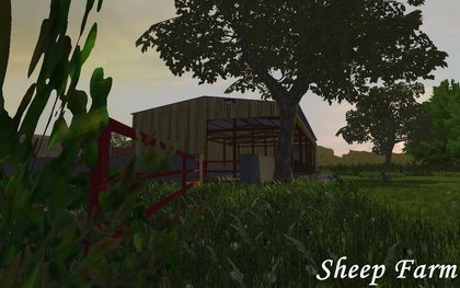 Sheepfarm by eada