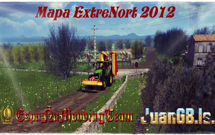 Map ExtreNort 2012 pack