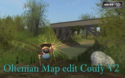 Oltenian map edit coufy v2 pack