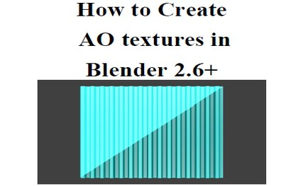 Blender AO Tutorial