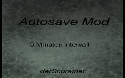 Map Auto-save