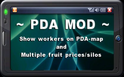 PDAmod Workers And MultiFruit