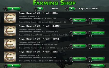 Royal Bank Kredit pack