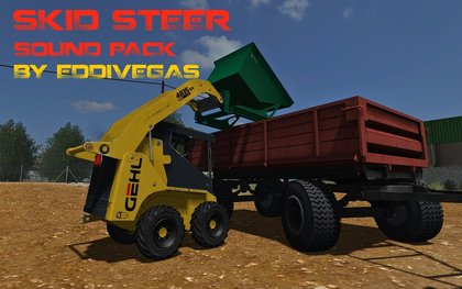 Skid Steer Sound Pack By EddieVegas
