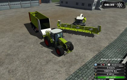 Claas Jaguar pack