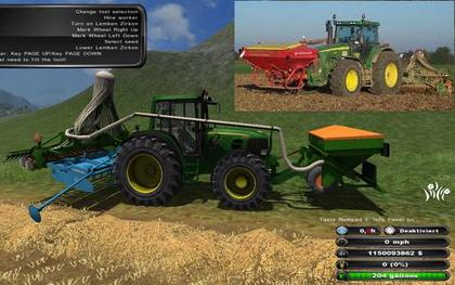 John Deere Seeder pack