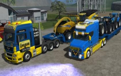 New Holland Truck pack