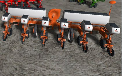 AC 6 Row Planter