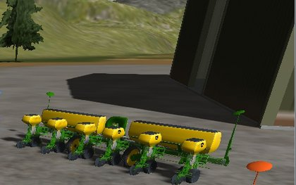 JD 6 Row Planter