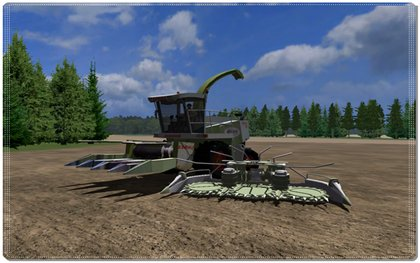 Claas Jaguar 820 pack