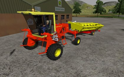 New Holland 1112 Swather pack