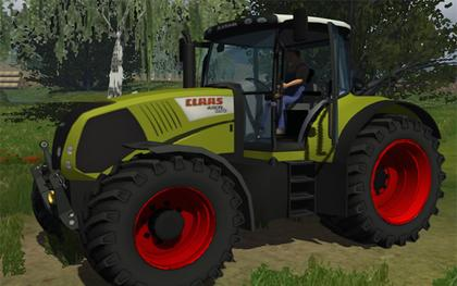 Claas Axion850 v5