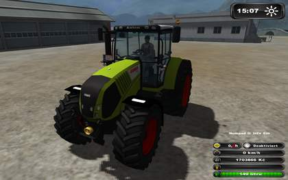 Claas Axion 850 v65