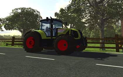 Claas Axion 950 V3 by QUENT111
