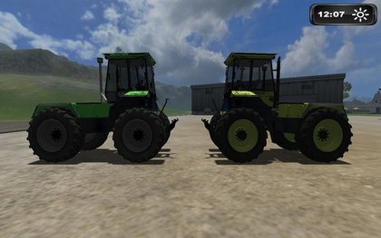 Deutz Fahr INtrac 660 pack
